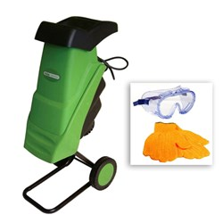 Handy Impact Shredder with Free Safety Gloves and Goggles