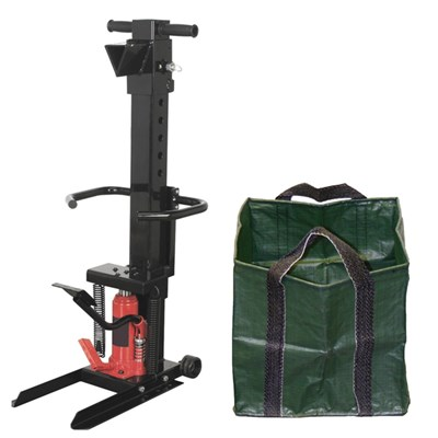 Handy Manual Log Splitter with Free Log Bag