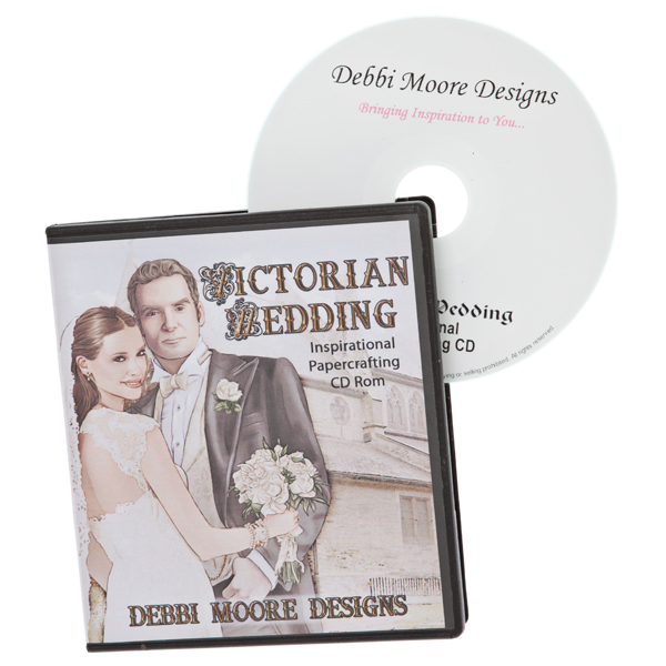 Debbi Moore Victorian Wedding Papercrafting CD ROM No Colour