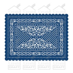 Tattered Lace Haddon Scallop Rectangle 3 in 1 Die