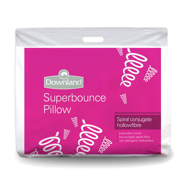 Downland Pack of 6 Superbounce Pillows No Colour