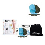 Pearl Hair Remover Set with Bonus Buffer Pad Set - 4 x Large - 4 x Small