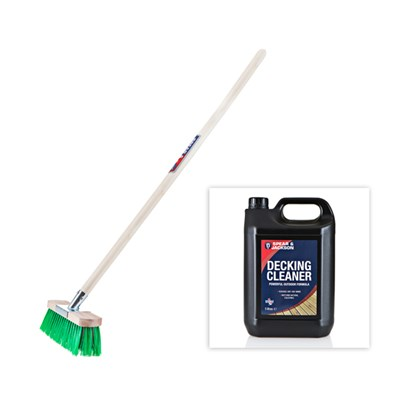 Spear & Jackson Decking Cleaning Kit - I