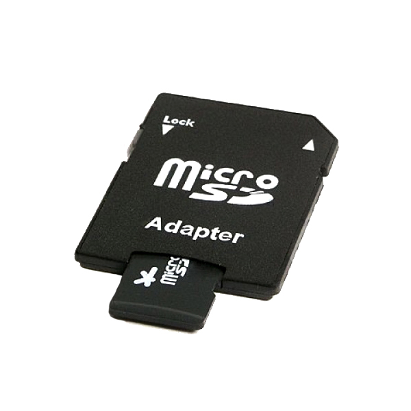 8GB Class 10 Micro SD Card with Adaptor No Colour