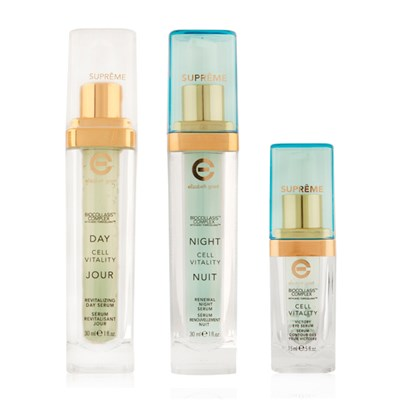 Elizabeth Grant Supreme Serums Collection - Supreme Day Serum 30ml, Supreme Night Serum 30ml and Supreme Eye Serum 15ml