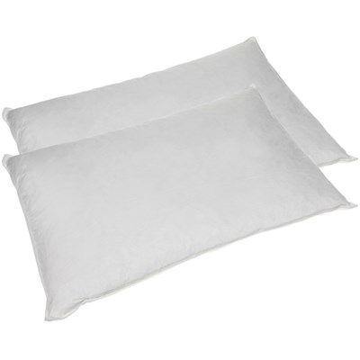 Pair of Goose Feather & Down Pillows