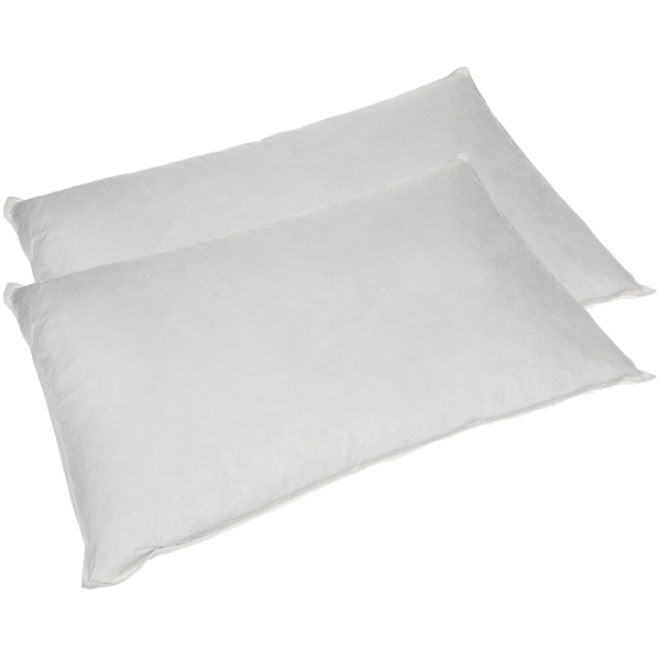 Downland Goose Feather & Down Pillows (Pair) No Colour