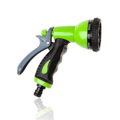 Spray Gun with 9 Pattern Adjustable Head