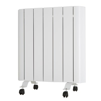 EEPC 1000W Ceramic Aluminium Radiator with Integrated Thermostat and Programmer