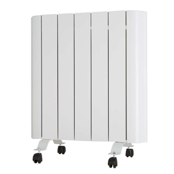 EEPC 1000W Ceramic Aluminium Radiator with Integrated Thermostat and Programmer 321670