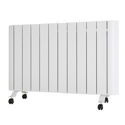 EEPC 2000W Ceramic Aluminium Radiator with Integrated Thermostat and Programmer