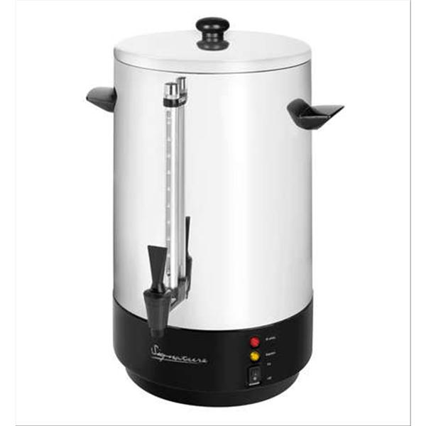 Signature Stainless Steel Catering Urn/Water Boiler 1650W