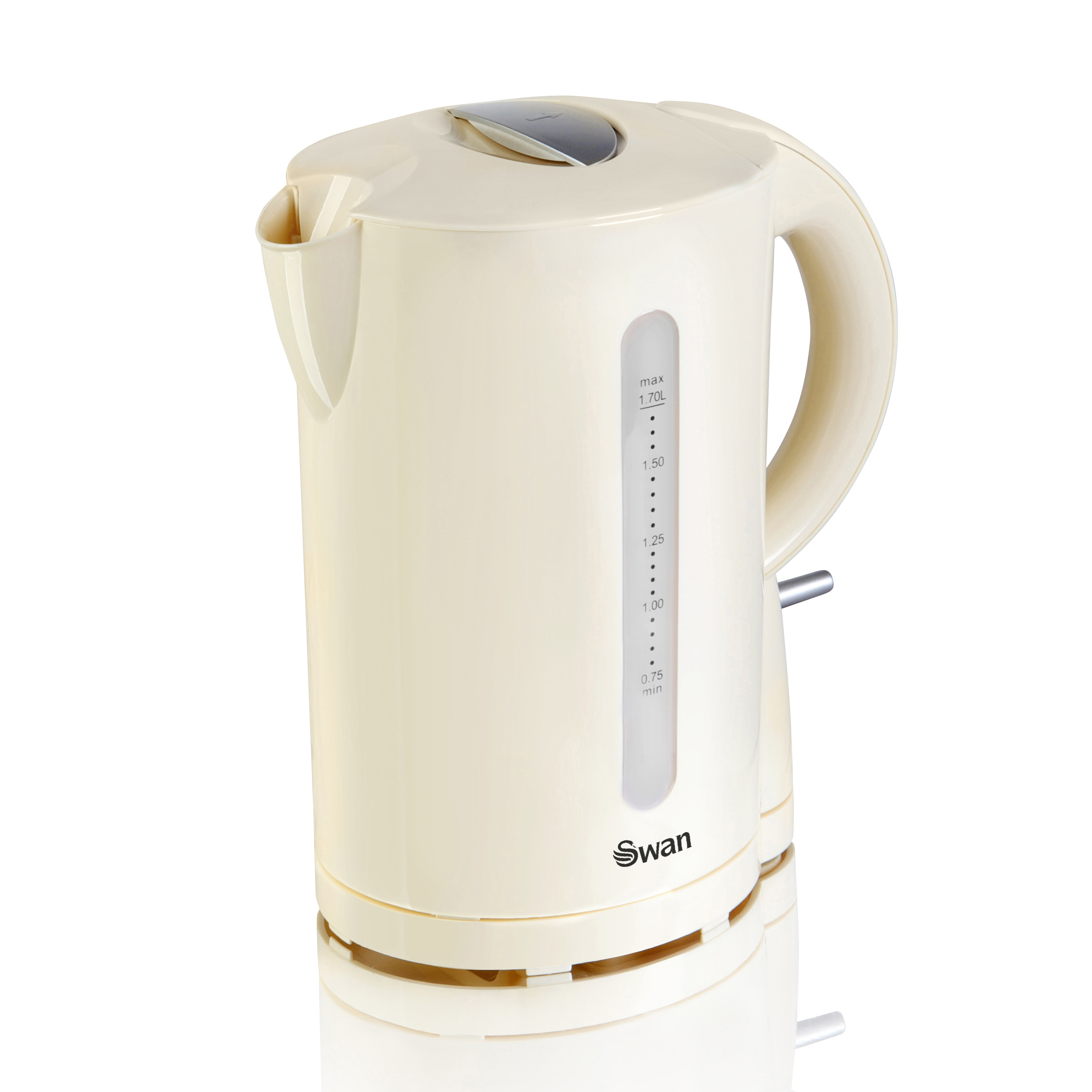 Swan 1.7 Litre Jug Kettle Cream - Cream No Colour
