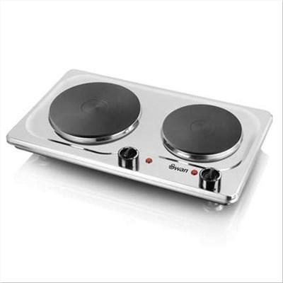 Swan Double Boiling Ring - S/Steel
