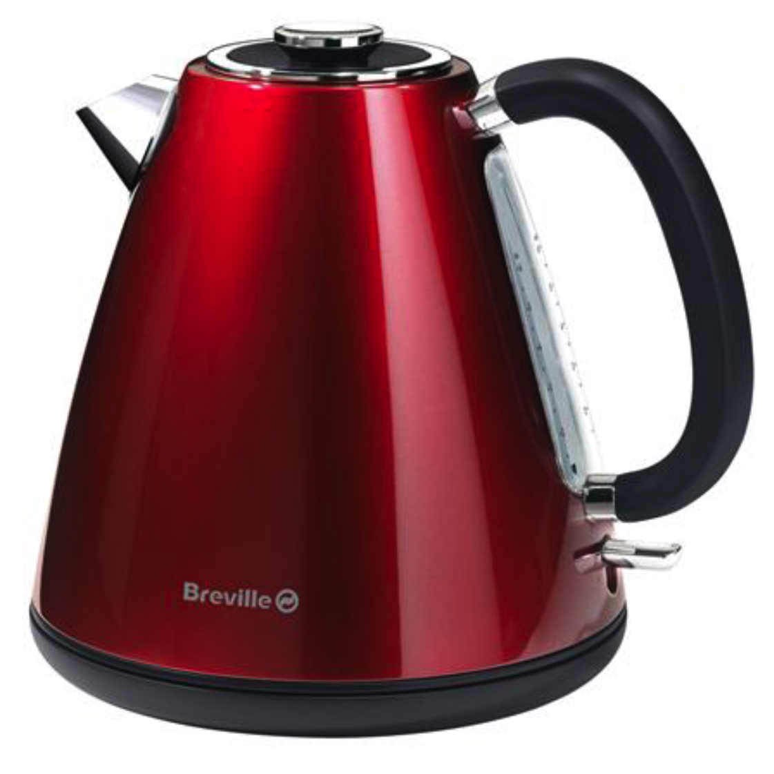 Breville Red S/Steel Jug Kettle - Red No Colour