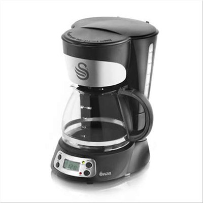 Swan Programmable Coffee Maker - Black