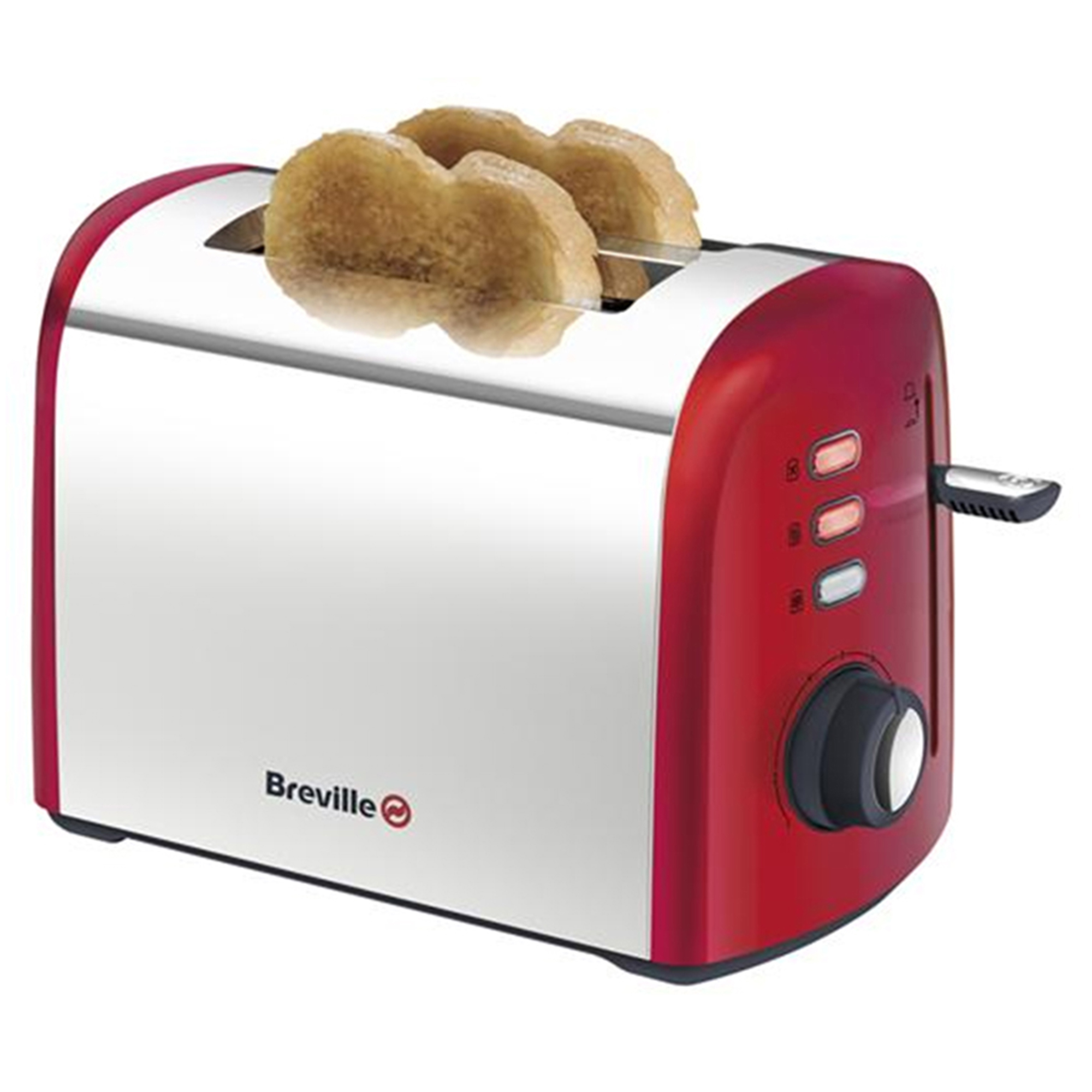 Breville Red Collection 2 Slice Toaster - Red No Colour