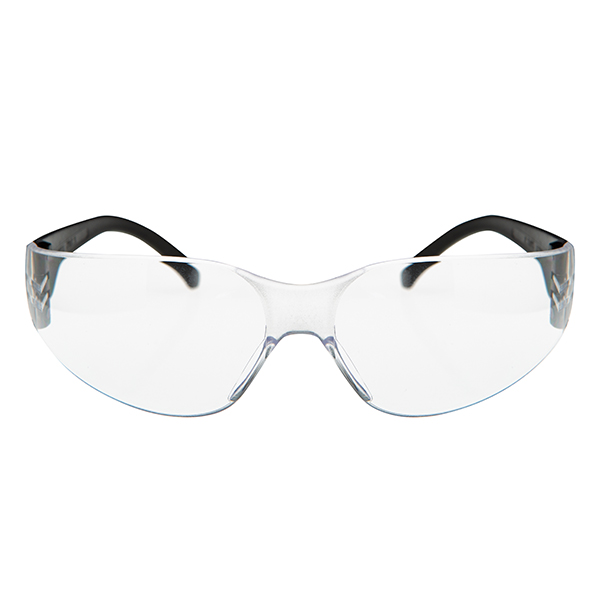 Wraparound Safety Glasses No Colour