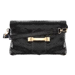 Malissa J 3 in 1 Leather Clutch