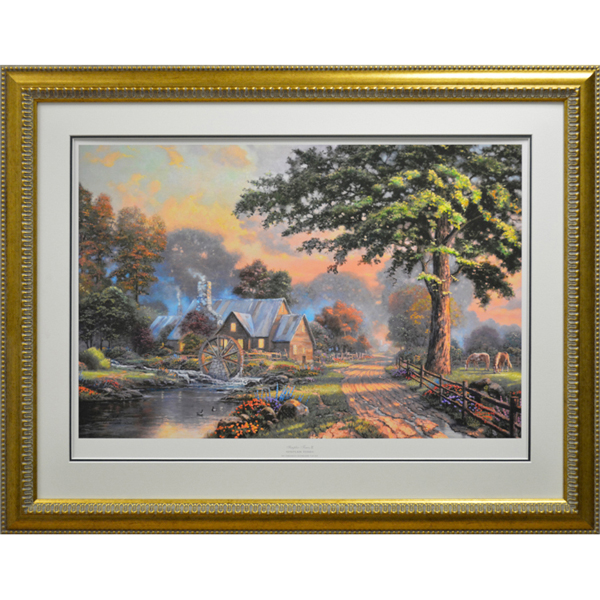 Thomas Kinkade Simpler Times II Limited Edition Print No Colour
