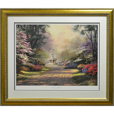 Thomas Kinkade Fountain of Blessings Limited Edition Print