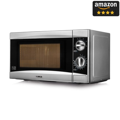 Tower 800W Manual Microwave