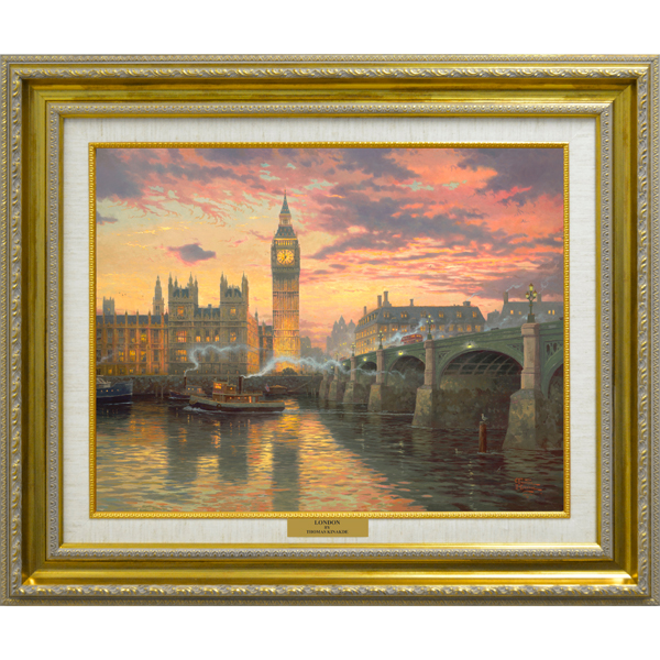 Thomas Kinkade London Open Edition Canvas Print No Colour