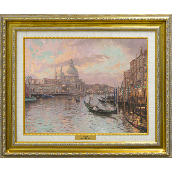 Thomas Kinkade Venice Open Edition Canvas Print No Colour