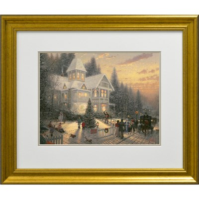 Thomas Kinkade Victorian Christmas Open Edition Print