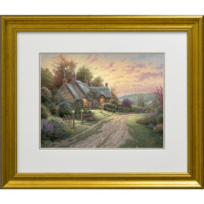 Thomas Kinkade A Peaceful Time Open Edition Print