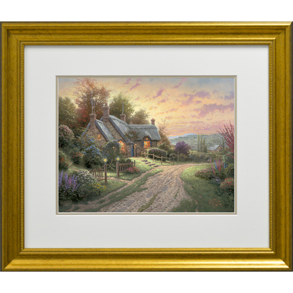 Thomas Kinkade A Peaceful Time Open Edition Print No Colour