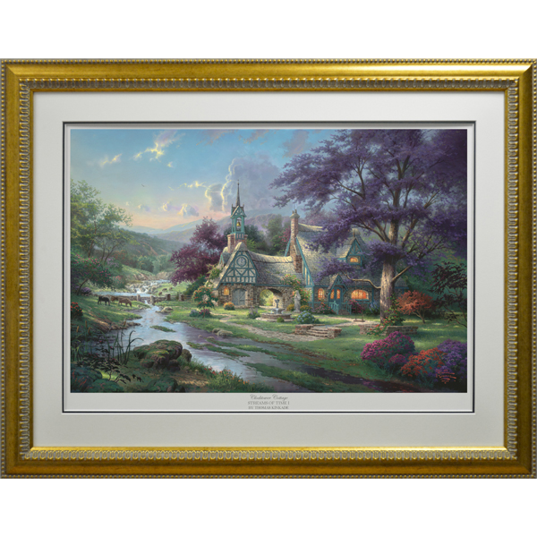Thomas Kinkade Clocktower Cottage Limited Edition Print No Colour
