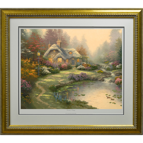 Thomas Kinkade Everetts Cottage Limited Edition Print No Colour