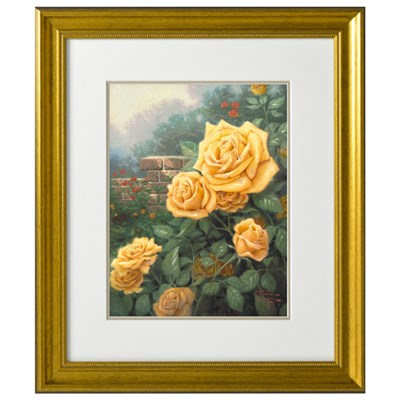 A Perfect Yellow Rose Open Edition Thomas Kinkade Print