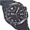 Swiss Eagle Swiss Made Gents Tactical Field Chronograph Watch with Black Silicone Strap
