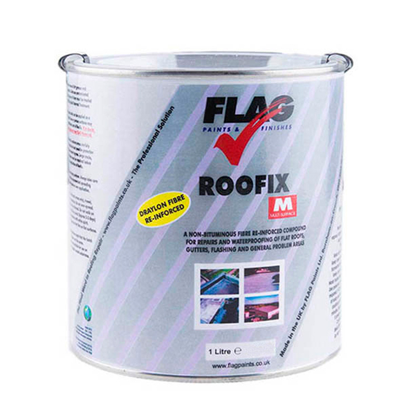 Roofix M Roof Repair 1 Litre Tin 329171 Ideal World