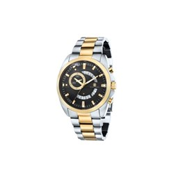 Klaus Kobec Gents Porter Quartz Multi Function Watch with Two Tone Stainless Steel Bracelet