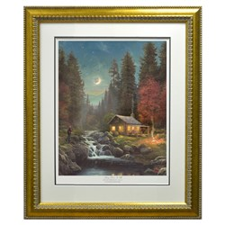Thomas Kinkade�s Away From It All Limited Edition Framed Print