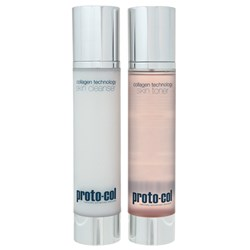 Proto-col Cleanser and Toner 120ml Duo