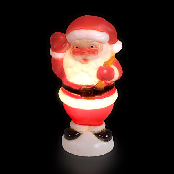 50cm Blow Molded Santa No Colour