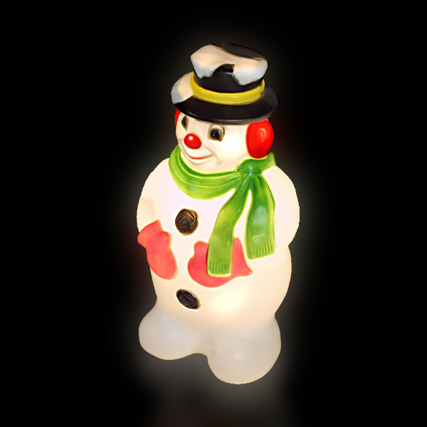 78cm Blow Molded Snowman No Colour