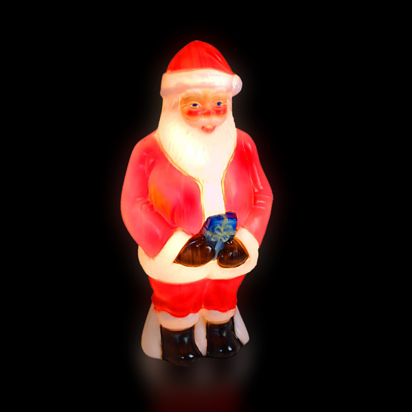 86cm Blow Molded Santa No Colour