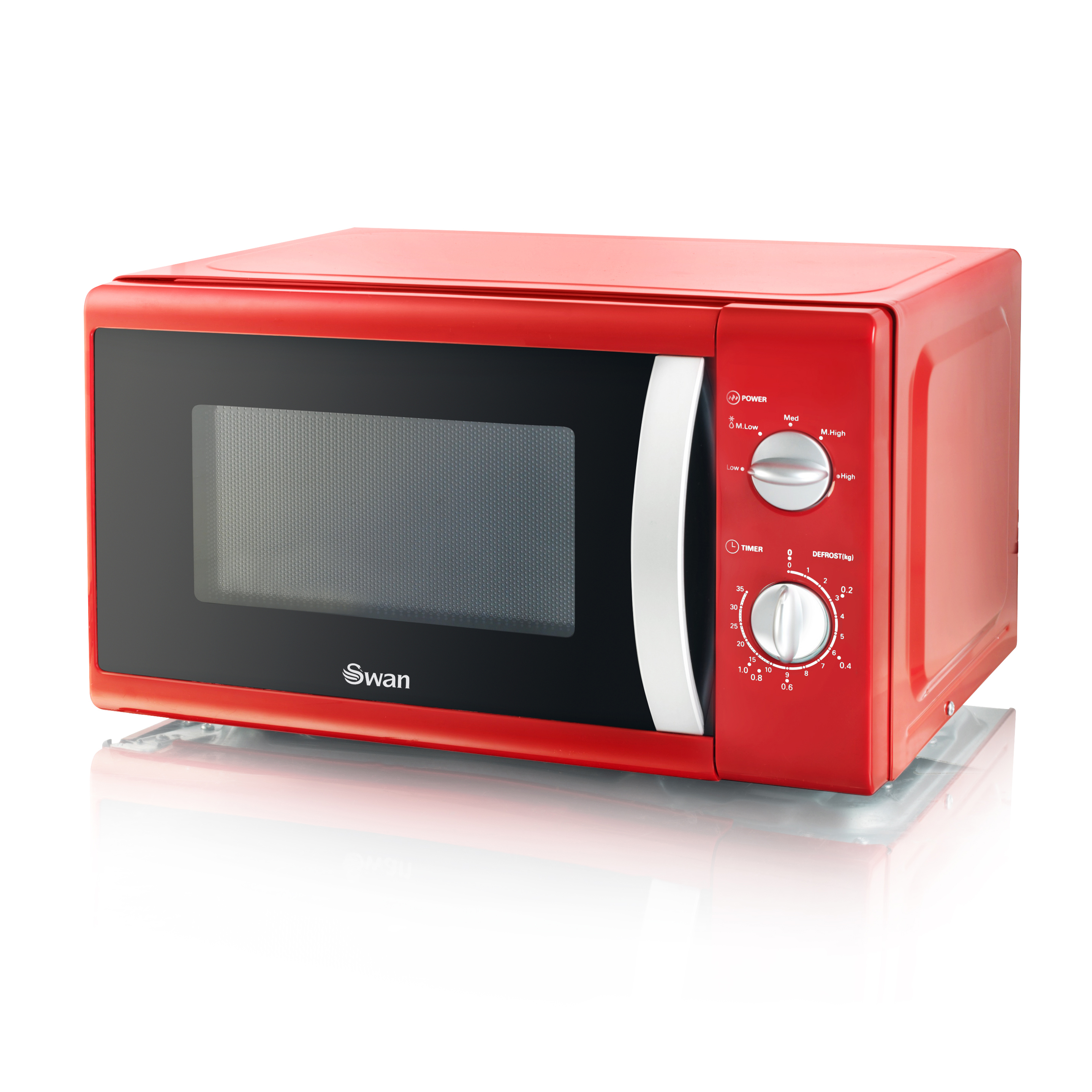 Swan 800W Solo Microwave No Colour