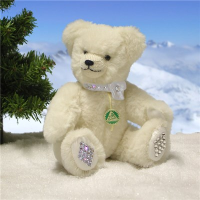 Little Snow Crystal Bear  by HERMANN - Spielwaren (Limited Edition of 100 Pieces)