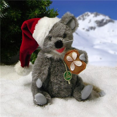 Little Christmas Mouse by HERMANN - Spielwaren (Limited Edition of 100 Pieces)
