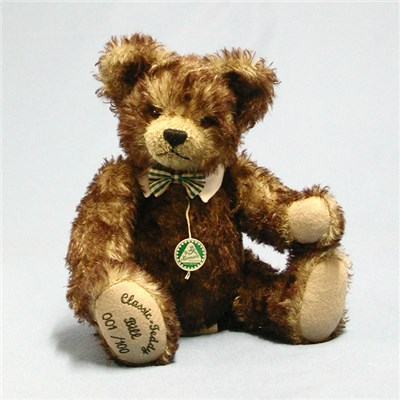 Classic Teddy Bill Bear by HERMANN - Spielwaren (Limited Edition of 100 Pieces)