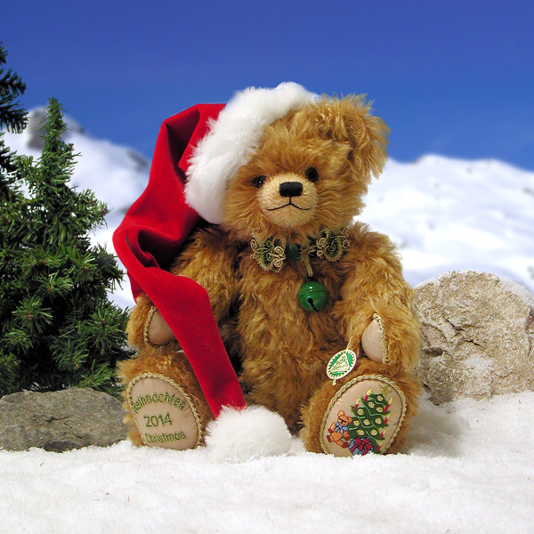 Hermann 2014 Christmas Bear by HERMANN - Spielwaren No Colour
