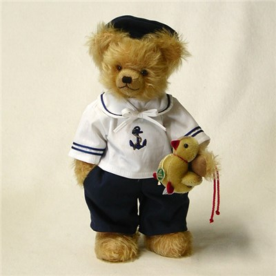 Little Sailor Bear  by HERMANN - Spielwaren (Limited Edition of 99 Pieces)