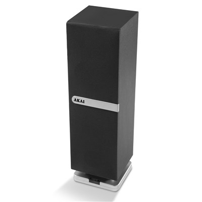 Akai Mini Bt Tower Speaker Black - Black