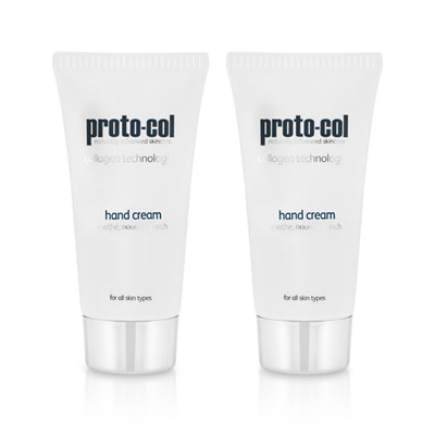 Proto-col Coral and Collagen Hand Cream (Twin Pack)